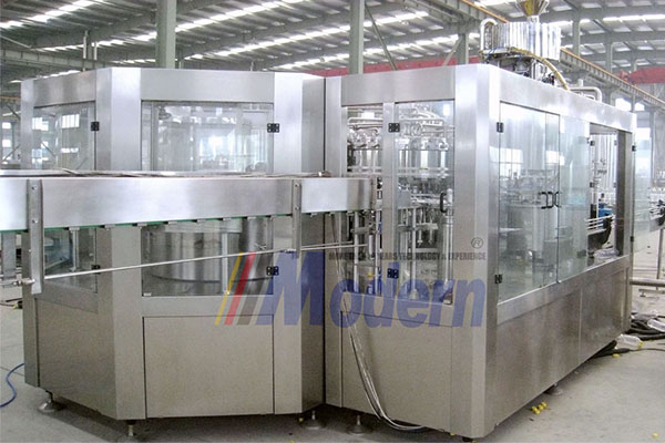 soft drink filling machine line